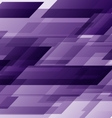 Abstract purple rectangles technology distorted vector image vector image