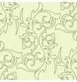 Decoration vintage element Floral style Seamless vector image vector image