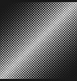 Geometric abstract halftone square pattern