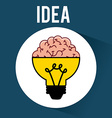 idea design vector image