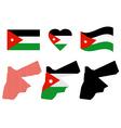 map of Jordan vector image