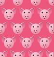 New year 2019 pig seamless pattern