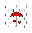 umbrella image protecting vector image vector image