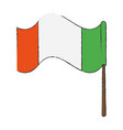 ireland flag symbol vector image