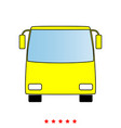 bus it is icon vector image