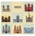 Castles vector image vector image