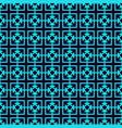 geometric simple luxury blue minimalistic pattern vector image vector image