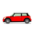New red mini vector image vector image
