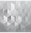 abstract gray overlap geometric background vector image vector image