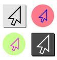 Arrow flat icon