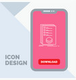 categories check list listing mark line icon in vector image vector image