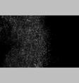 grainy texture black vector image vector image