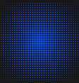 halftone dot pattern background template - vector image vector image