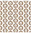 pattern background lion icon vector image