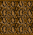 snake skin seamless pattern texture background vector image vector image