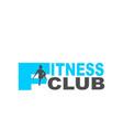 sport club emblem vector image vector image