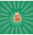 Super sale isolated discount sticker vector image vector image