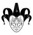 theatrical mask 10 vector image