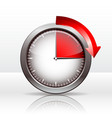 Timer clock vector image