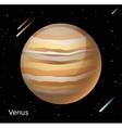 Venus planet 3d vector image vector image