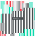 abstract geometric vertical lines background in vector image vector image