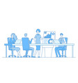business meeting concept businesswoman on vector image vector image