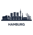 hamburg vector image vector image