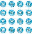 internet or computing icon set vector image vector image