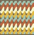 seamless retro 70s pattern vector image vector image