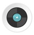 vinyl icon circle vector image vector image