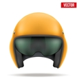 Aaircraft marshall helmet vector image vector image