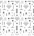 Berber tattoos seamless pattern