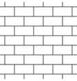 Bricks stripped geometric seamless pattern vector image