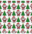 Christmas background Santa Claus vector image vector image