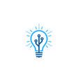 digital idea logo icon design vector image vector image