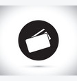 floating credit card icon vector image vector image