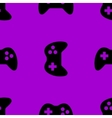 Gaming Joystick web icon flat design Seamless vector image vector image
