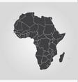 map africa world map vector image vector image