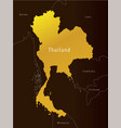 map of thailand administrative vector image vector image