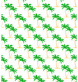 palms seamless pattern trees with green foliage vector image
