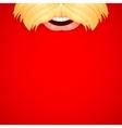 Santa Wishing Merry Christmas vector image vector image