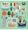 tour italy vector image