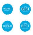best offer labels vector image