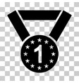 first medal icon vector image vector image