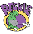 Mr pickle man advert vector image vector image