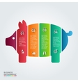 piggy bank element for infographic vector image