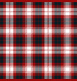 red blue white tartan plaid scottish pattern vector image vector image