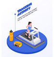 running people concept vector image vector image