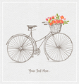 VINTAGE BICYCLES vector image