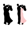 couple dancing vector image
